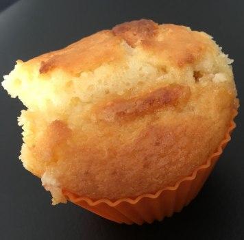 Muffin dans mes moules en silicone